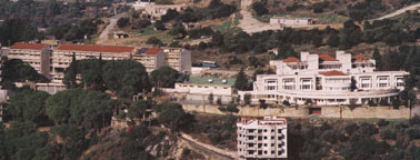Both schools, view from Aley